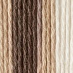 Lily Sugar'n Cream Yarn Cone - Chocolate Ombre