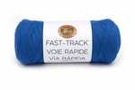 Lion Brand Fast Track Yarn - Bicycle Blue