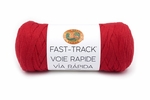Lion Brand Fast Track Yarn - Race Car Red