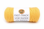 Lion Brand Fast Track Yarn - Taxi Cab Yellow