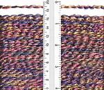 Lion Brand Homespun Yarn - Tanzanite Stripes