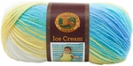Lion Brand Ice Cream Yarn - Lemon Swirl