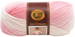Lion Brand Ice Cream Yarn - Strawberry