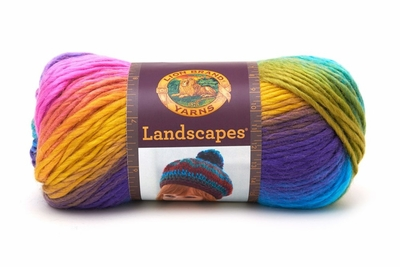 Lion Brand Landscapes Yarn - Boardwalk
