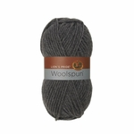 Lion Brand Lions Pride Woolspun Yarn - Charcoal