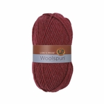Lion Brand Lions Pride Woolspun Yarn - Cranberry