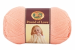 Lion Brand Pound Of Love Baby Yarn - Creamsicle