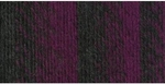Lion Brand Scarfie Yarn - Charcoal/Magenta