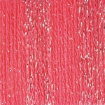 Patons Glam Stripes Yarn - Coral (Clearance)