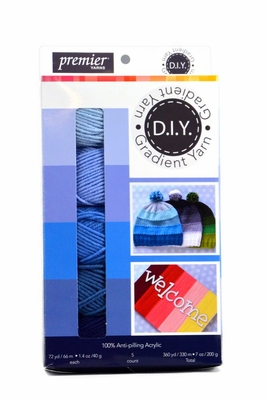 Premier DIY Gradient Yarn Box - Blue