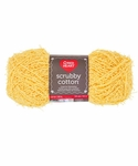Red Heart Scrubby Cotton Yarn - Lemony