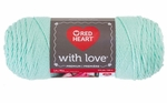 Red Heart With Love Solid Yarn - Minty