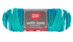 Red Heart With Love Stripes Yarn - Fiji Stripe