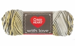 Red Heart With Love Yarn - Lemon Drop