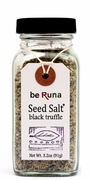 Organic BLACK TRUFFLE SEED SALT - <font size=+1>6/</font size> 3.2 OZ Bottles
