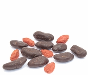 Organic CHOCOLATE COVERED GOJI BERRIES - 5 LBS