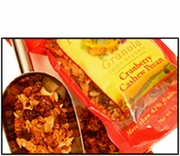 Organic CRANBERRY CASHEW PECAN GRANOLA - 25 LBS - OUT OF STOCK