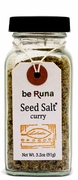 Organic CURRY SEED SALT - <font size=+1>6/</font size>  3.2 OZ Bottles