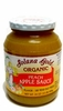 Organic PEACH APPLE SAUCE - 12/ 24 oz Jars - OUT OF STOCK