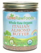 Organic RAW ALMOND BUTTER - 3/ 16 oz Jars - OUT OF STOCK