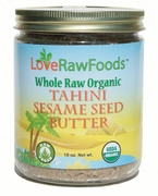 Organic RAW SESAME TAHINI - 3/ 16 oz Jars - OUT OF STOCK