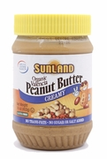 Organic ROASTED CREAMY PEANUT BUTTER - 3/ 16 oz Jars - OUT OF STOCK