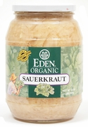 Organic SAUERKRAUT - 12/ 32 oz Jars - OUT OF STOCK