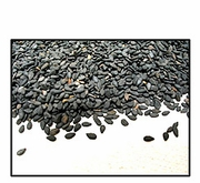 Organic UNHULLED BLACK SESAME SEEDS - 2 LBS