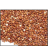 Organic WHOLE GRAIN RED QUINOA - 25 LBS
