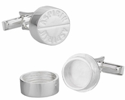 Solid Sterling Aspirin Cufflinks - Great Doctor Gift