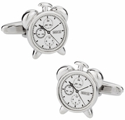 Alarm Clock Cufflinks