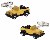 Army Vehicle Cufflinks