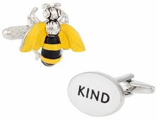 Bee Kind Cufflinks