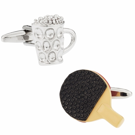 Beer Pong Cufflinks