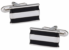 Black Bar Cufflinks
