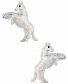 Bucking Bronco Horse Cufflinks