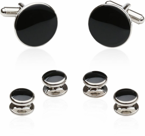 Budget Black and Silver Formal Set