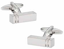Business Silver Cufflinks