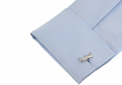 Cessna Airplane Cufflinks