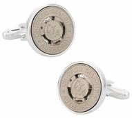 Chicago Subway Token Cufflinks