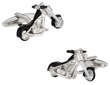 Chopper Motorcycle Cufflinks