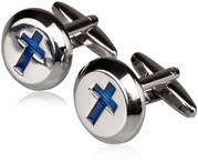 Christian Cross Cufflinks