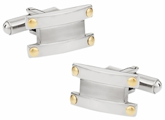 Cuff-Daddy Cuffs with Gold Accents