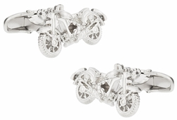 Diecast Motorcycle Cufflinks