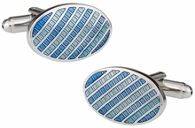 Distinctive Blue Cufflinks