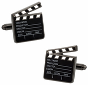 Hollywood Clapper Board Cufflinks