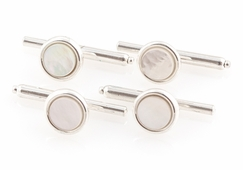 Mother of Pearl Spring-back Studs