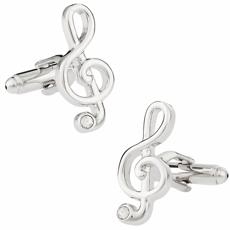 Music Treble Clef Cufflinks