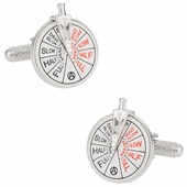 Nautical Ship Engine Cufflinks