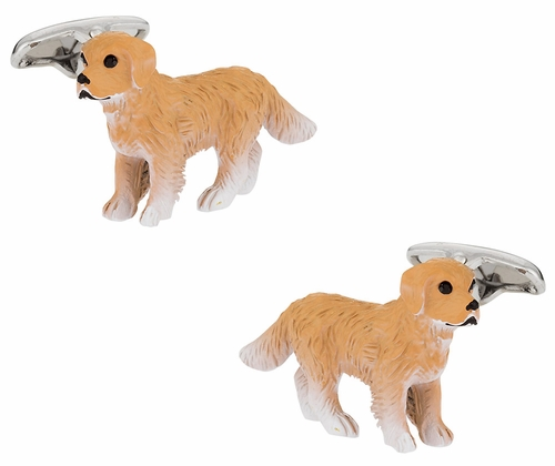 Painted Dog Cufflinks